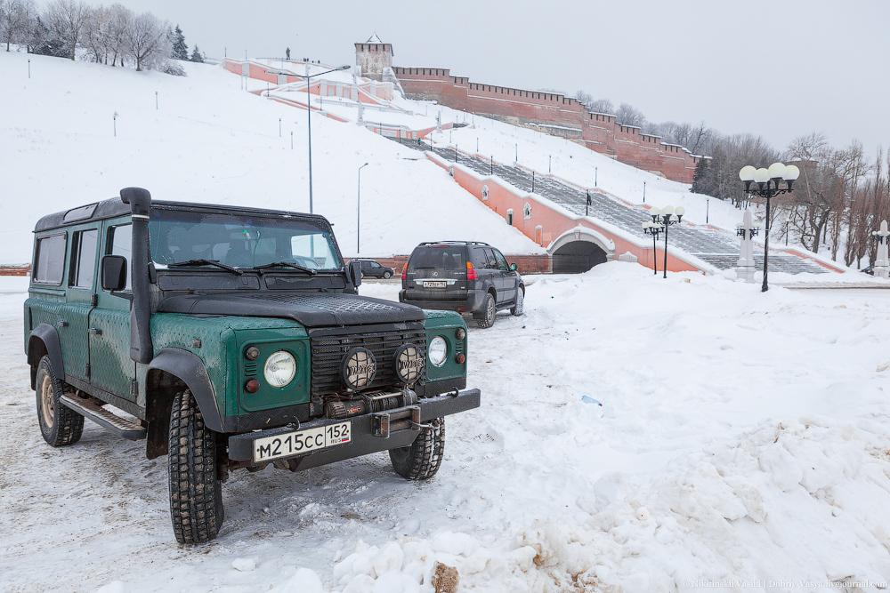 Нижний Новгород: зимние картинки