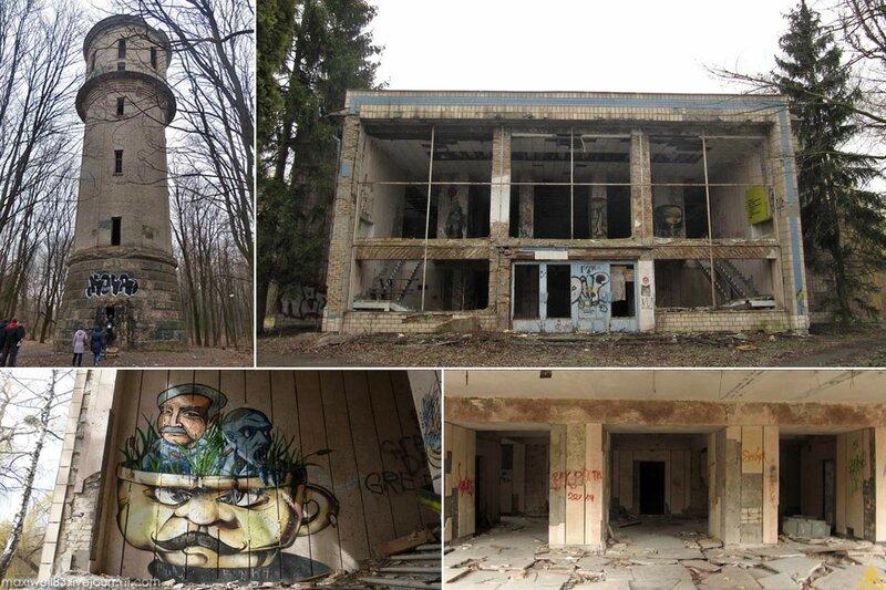 Заброшки Експоцентру України (частина 3): Ресторан «Островок» та інші абандони