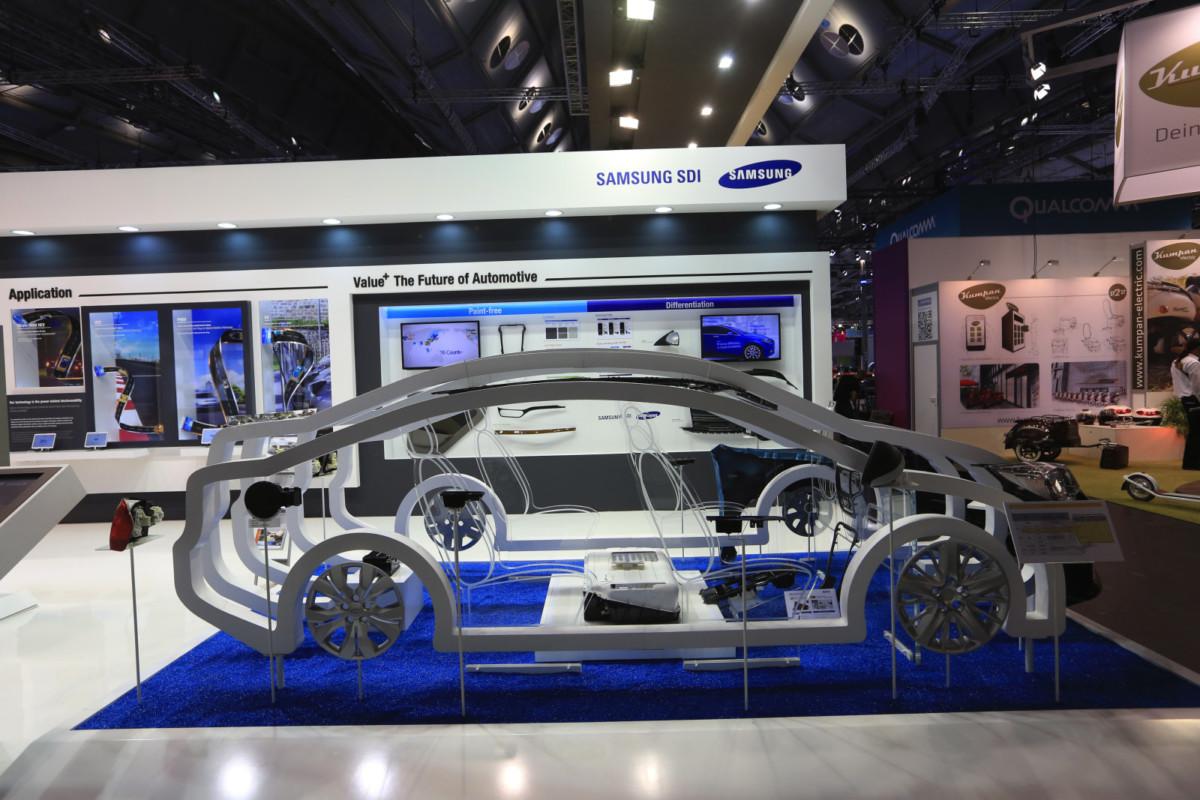 Новые батареи Самсунг  будут заряжаться на80% за20 мин.