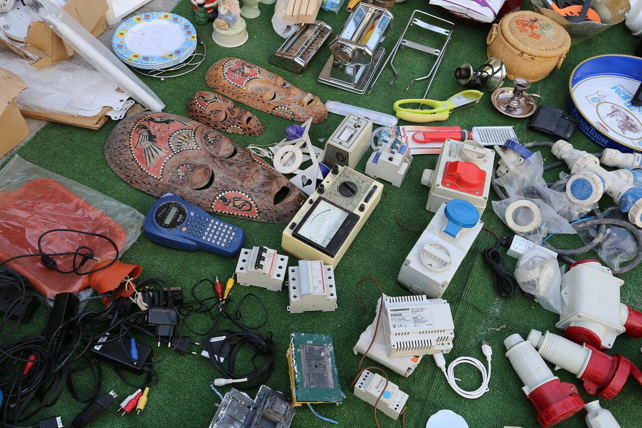 Палермо. Блошиный рынок на Джованни Грассо