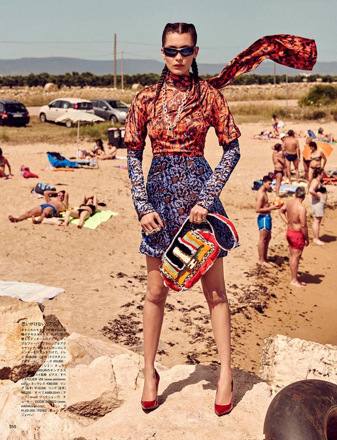 Белла Хадид в Vogue Japan