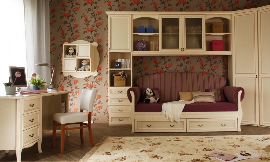 При выборе мебели в детскую комнату важно всегда помнить о экологичности материала, из которого она