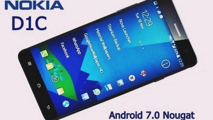 Смартфон Nokia D1С. Финская компания готовит к выпуску гаджеты под собственной маркой (запрет на их