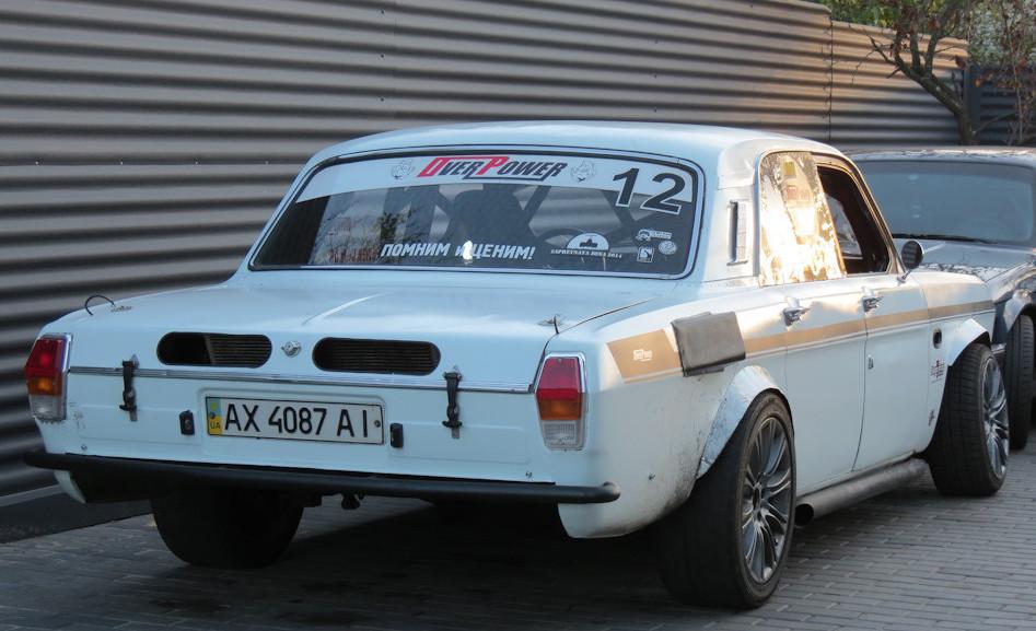 3. ГАЗ 24 el Cabrio Этот автомобиль был усовершенствован только снаружи. А все для того, чтобы прост