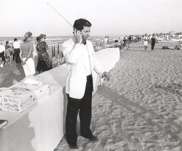 150-летие открытия первого пляжного курорта в Римини. Фотожурналист из Римини Паскуале Бове многие г