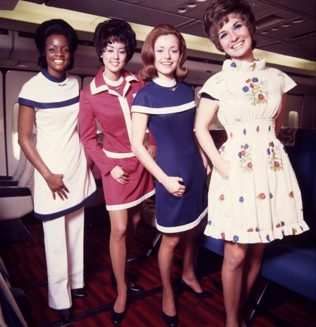 Форма впериод 1971-1974гг.  Delta Air Lines