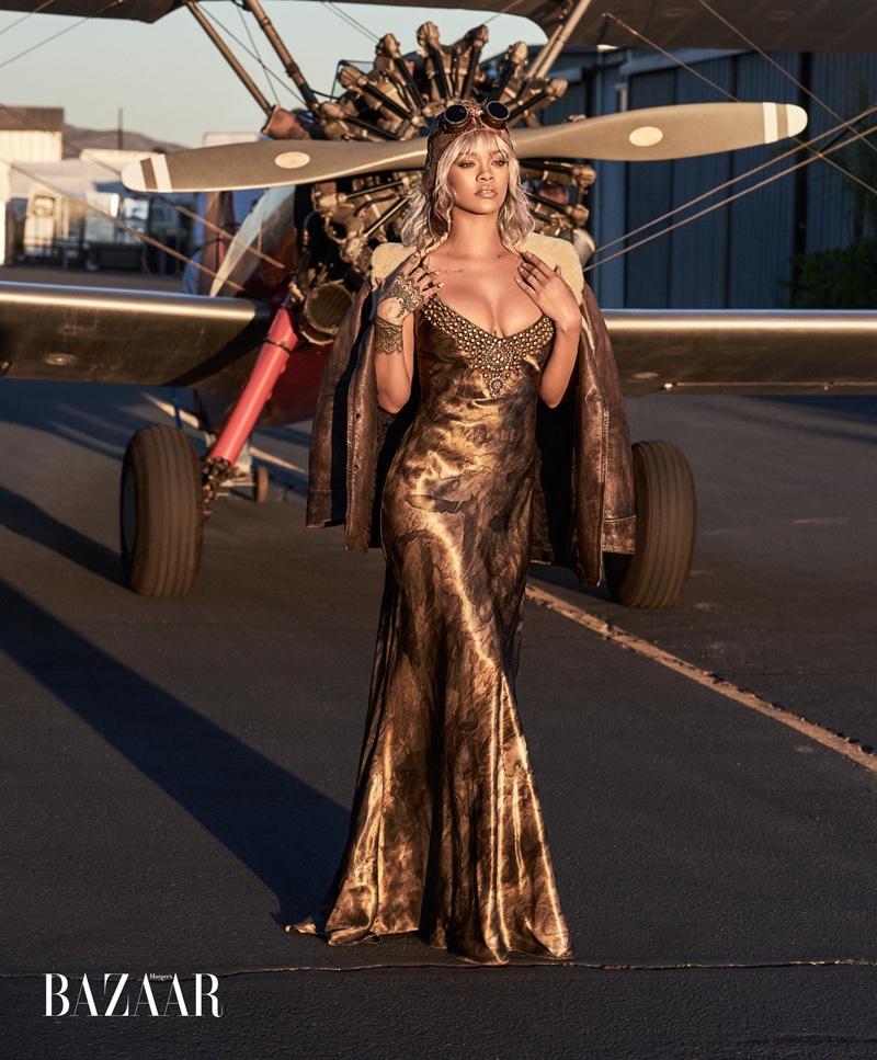 Рианна в Harper's Bazaar US (5 фото)