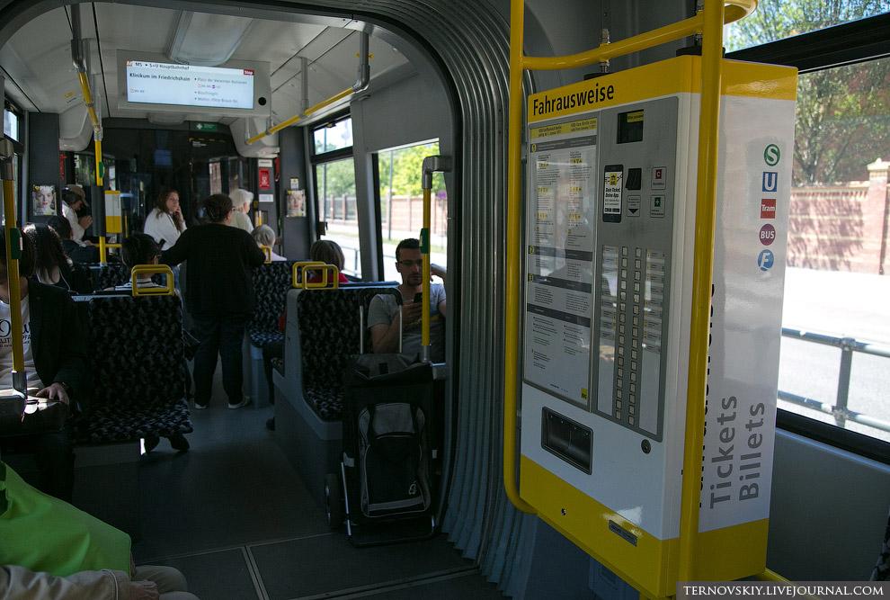 13. Кстати, у немцев нигде нет турникетов. Считается, что правильный пассажир сам следит за тем