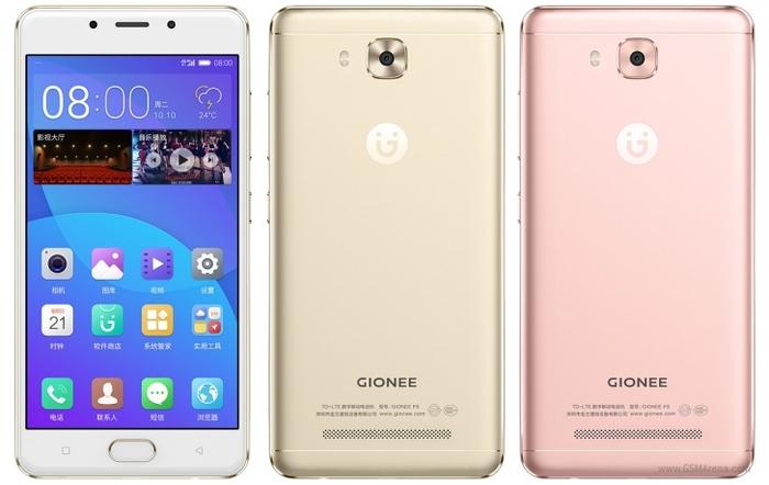 Официально представлен среднеуровневый смартфон Gionee F5