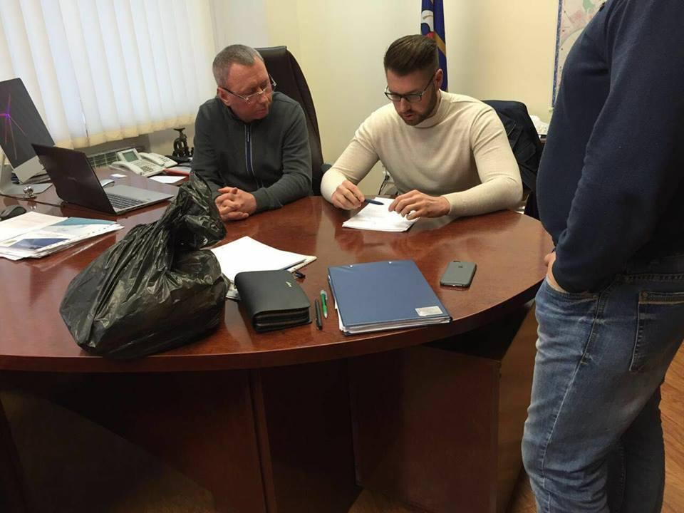 ВКиеве засоздание противозаконной организации задержали крупного депутата