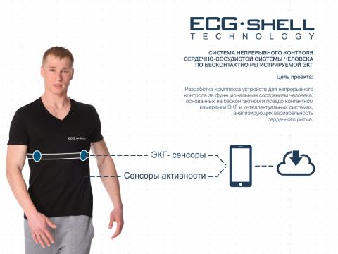 Представлена ЭКГ-футболка, способная следить запоказателями работы сердца