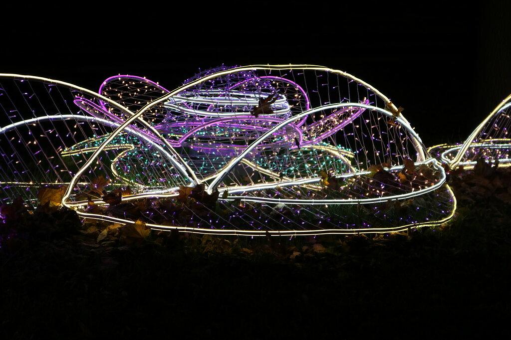 инсталляции световые