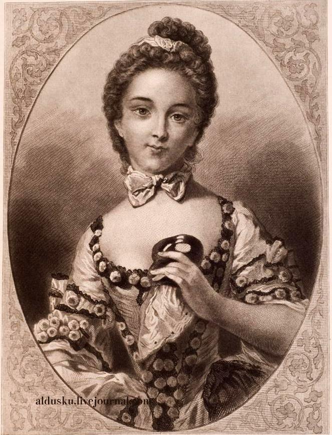 Госпожа Гимар. Илл. из 4 т. «История танцев» С.Н. Худекова
