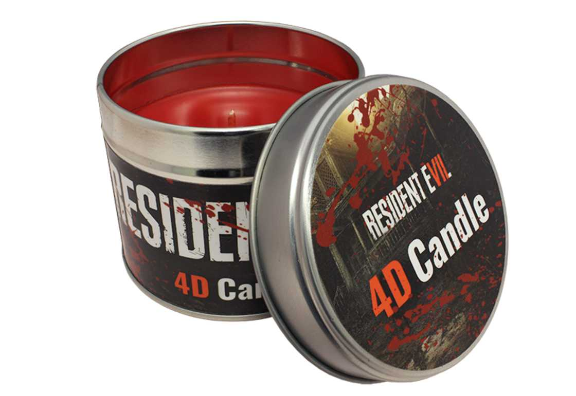 Zombie Candle - A blood-scented candle for Resident Evil 7