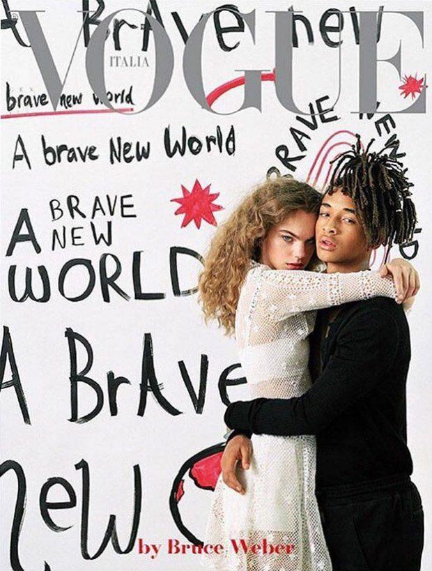 A Brave New World: Estella Boersma & Jaden Smith for Vogue Italia (15 pics)