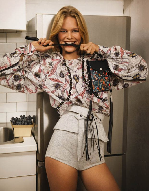 Anna Ewers Stars in Isabel Marant Spring Summer 2017 Campaign
