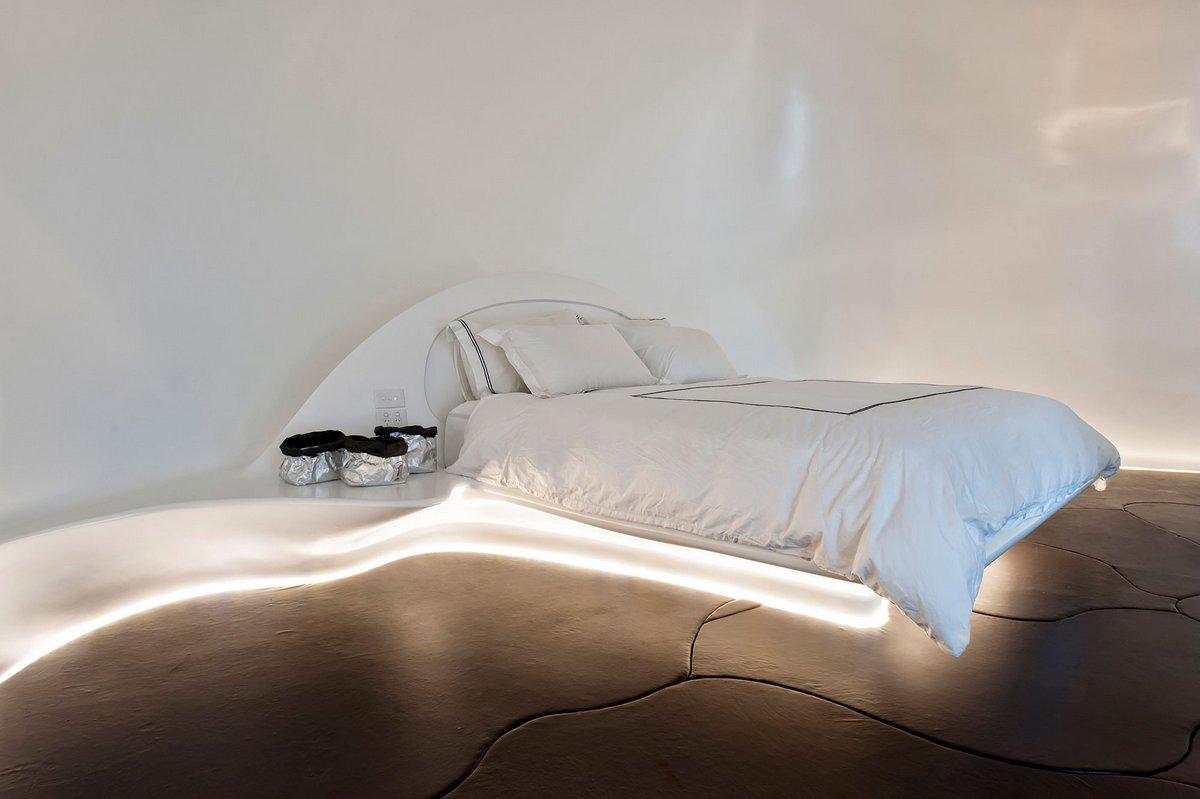 Подсветка спальной кровати