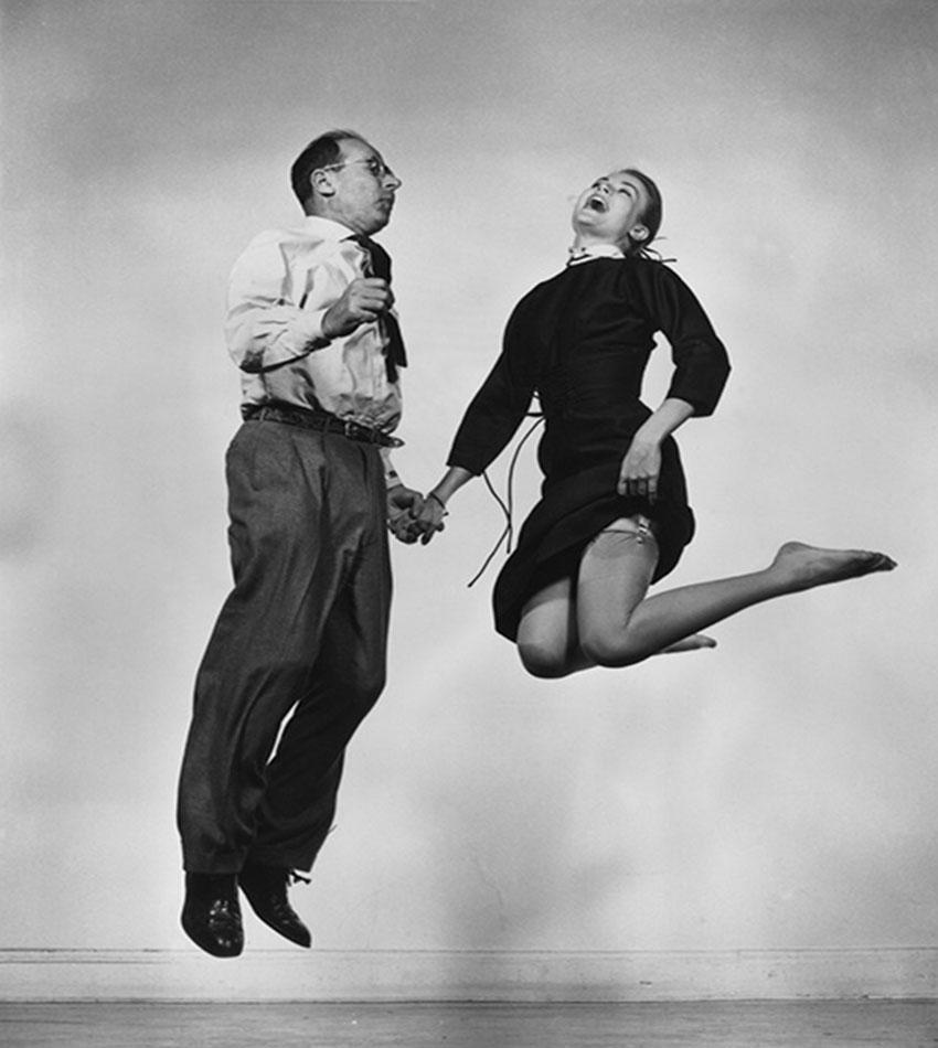 Грейс Келли и Филипп Халсман, 1954