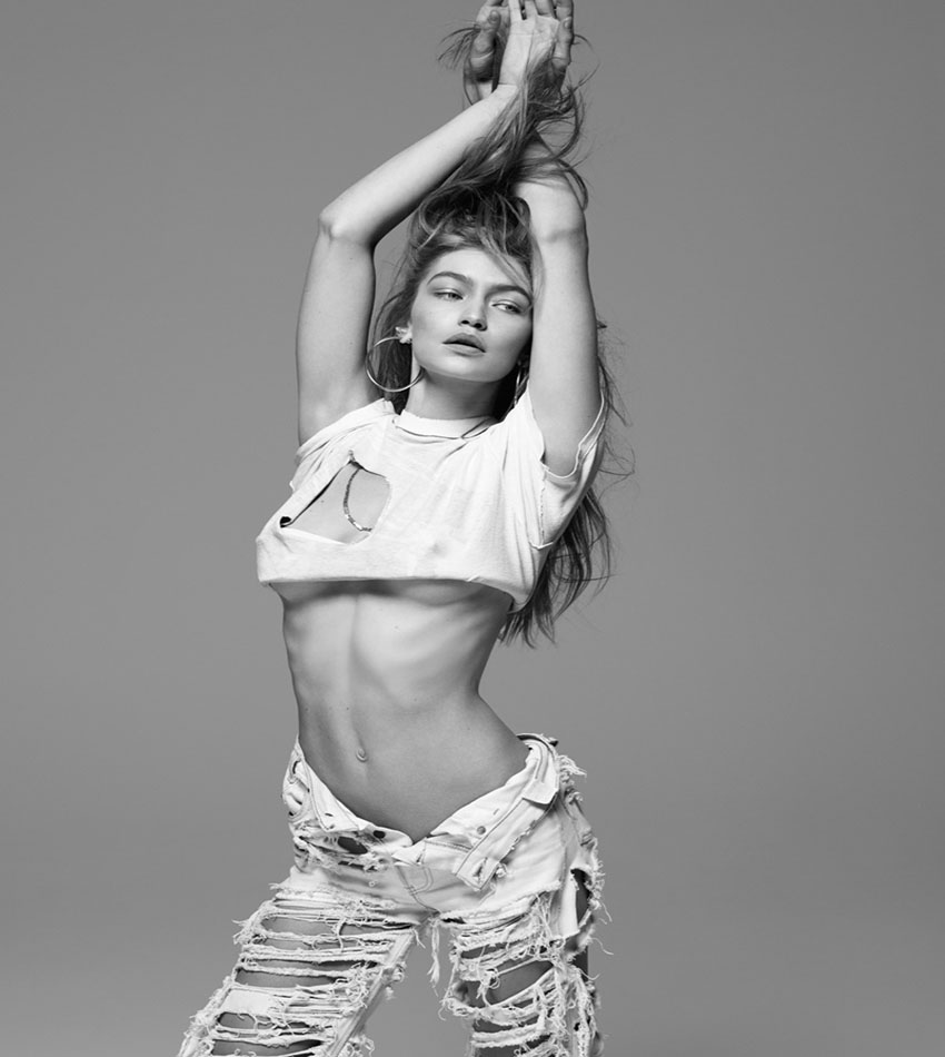Gigi Hadid For The Daily Front Row Hollywood Edition (Spring 2017)