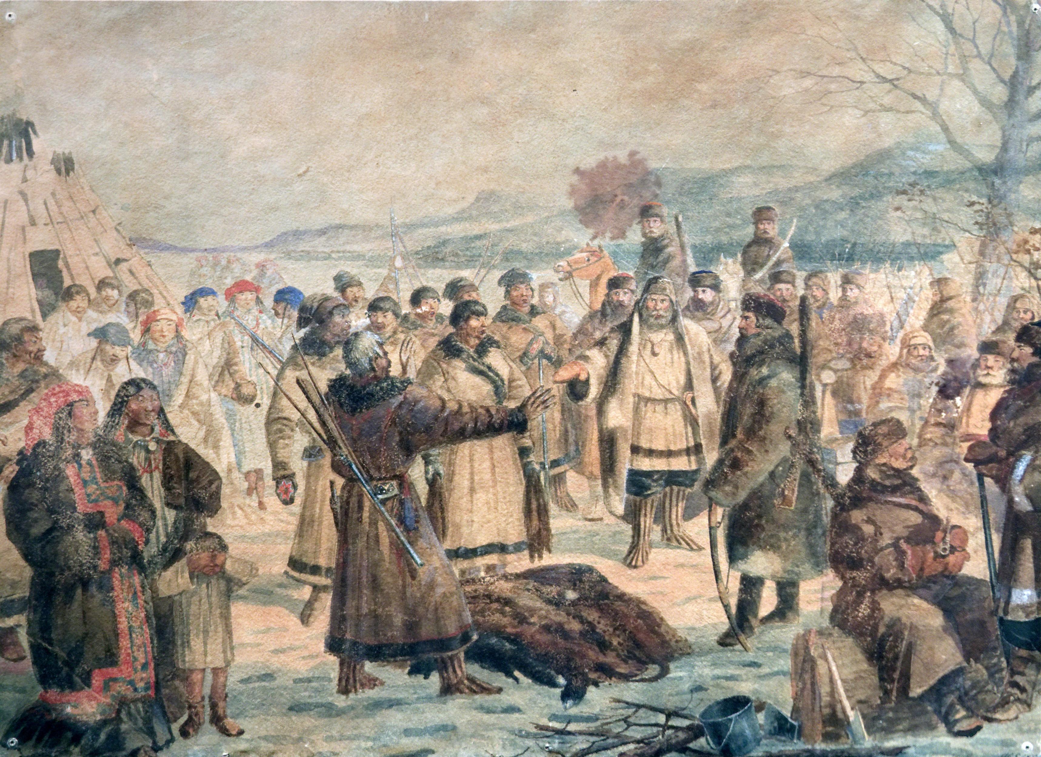 Воеводское управление в Сибири (XVII в.)