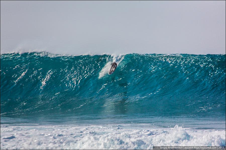 Серферы на Гавайах