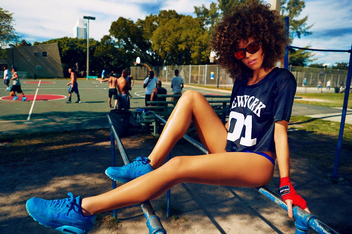 Johanna Da Ru by Alexei Bazdarev – Miami streetlook