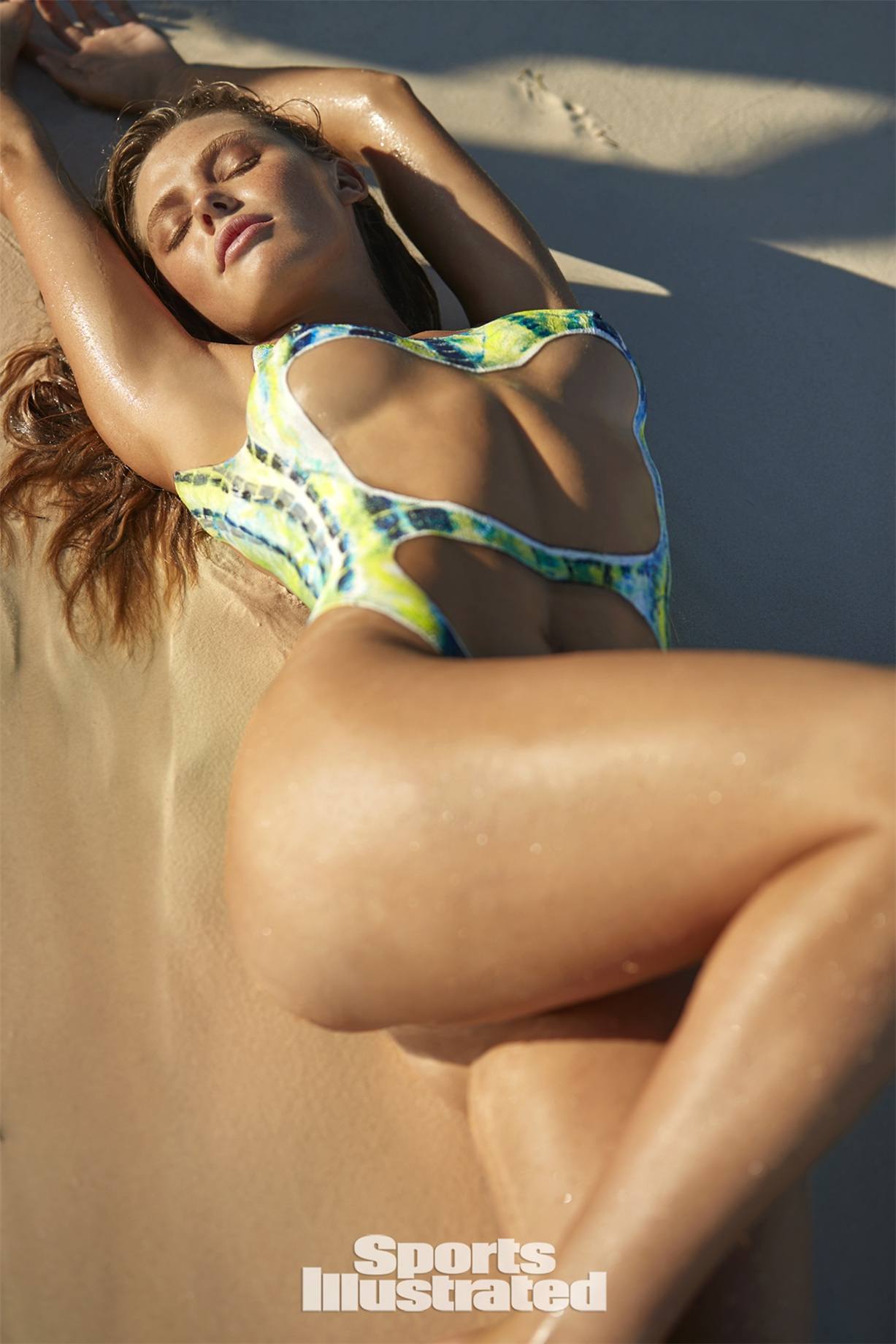 McKenna Berkley / МакКенна Беркли в боди-арт-купальнике - Sports Illustrated Swimsuit 2017 issue / in Anguilla by Josephine Clough