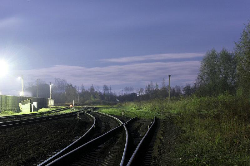 Выход со станции Новосокольники на Великие луки