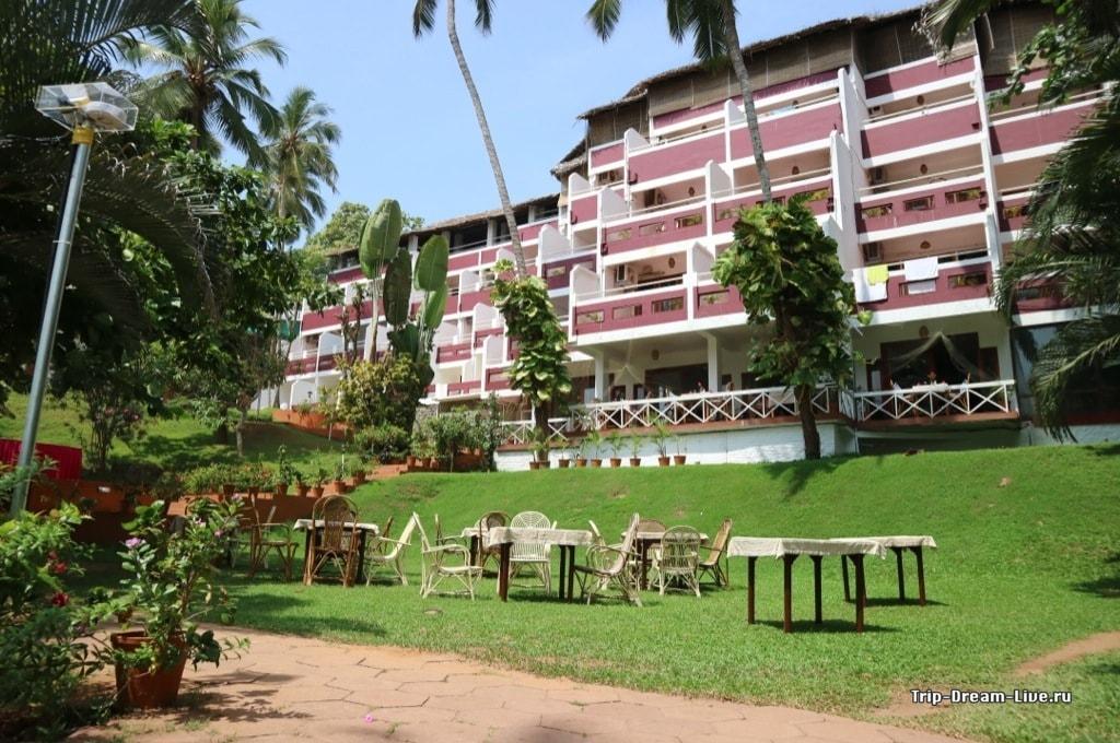 Отель на пляже Палмшор