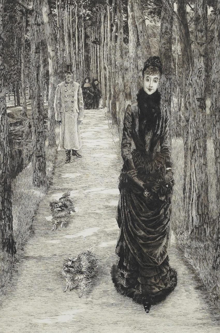 1885 Загадка (La Mysterieuse)