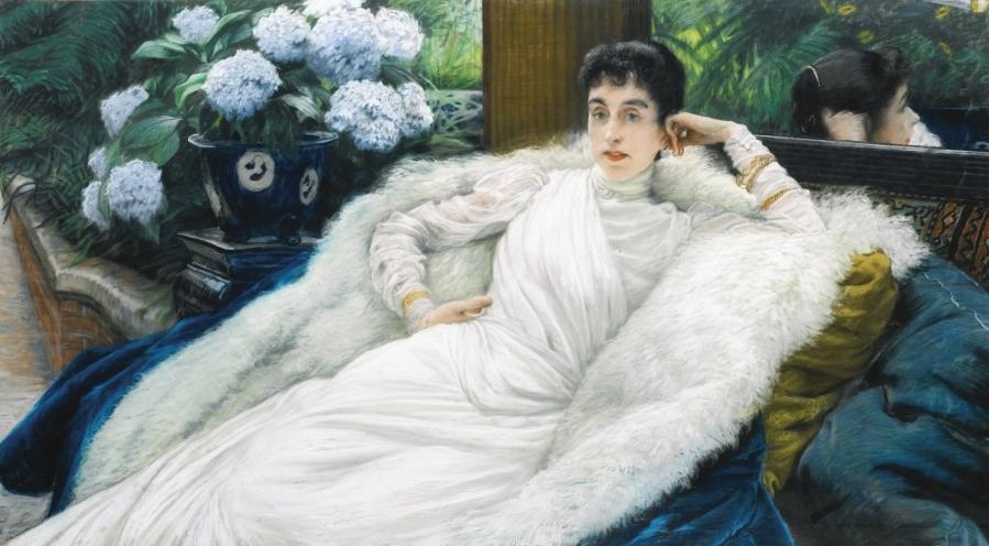 Portrait of Clotilde Briatte, comtesse Pillet-Will бумага на холсте, пастель Частное собрание