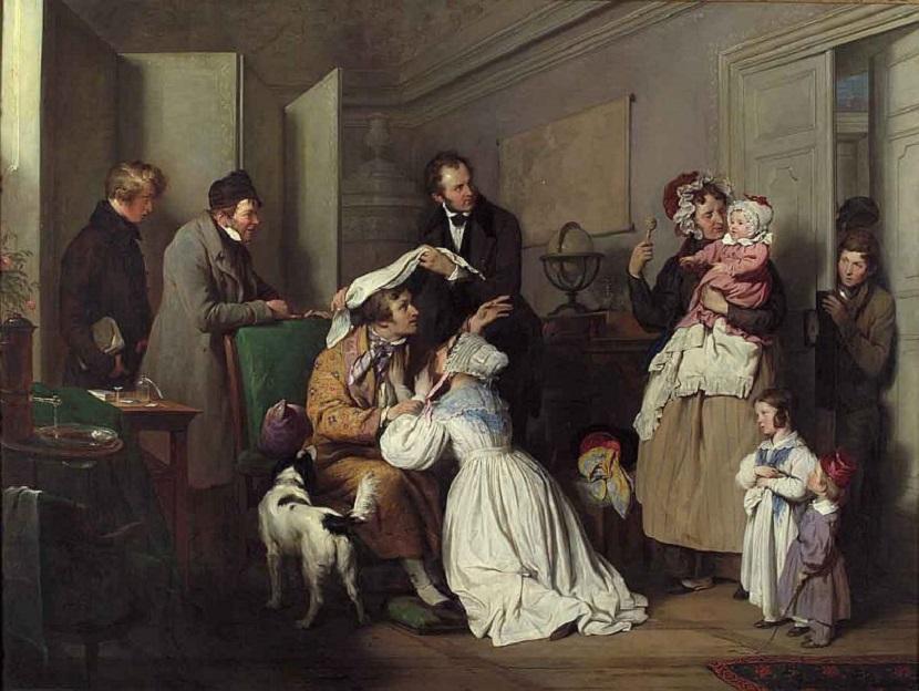 08g-Josef Danhauser, Der Augenarzt , 1837 © Wien Museum.jpg