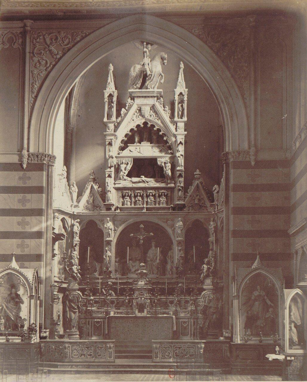 29. Церковь Святого Иоанна на ул.Карбонара. Алтарь 1414 года