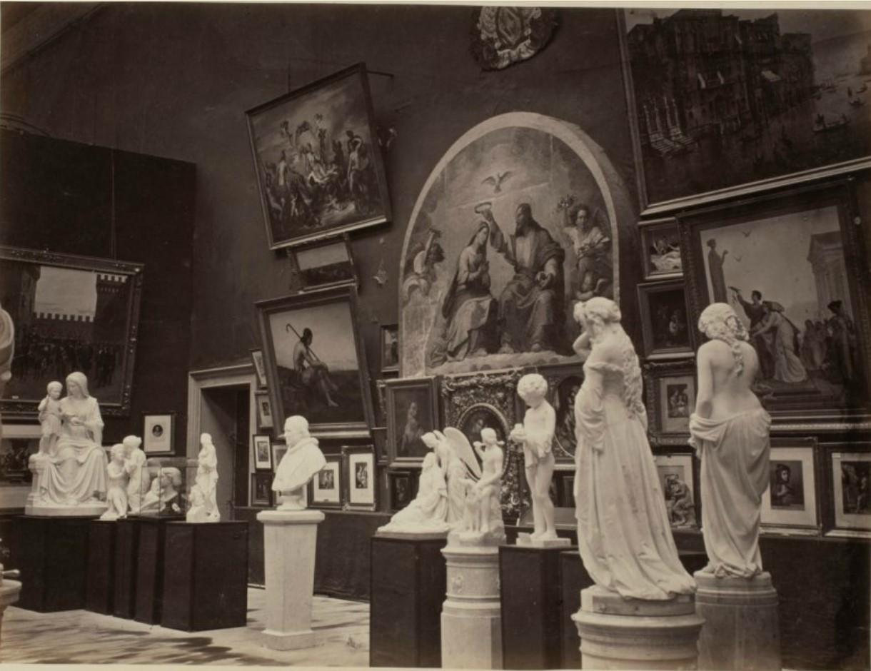17. Раздел изящных искусств. Итальянская экспозиция