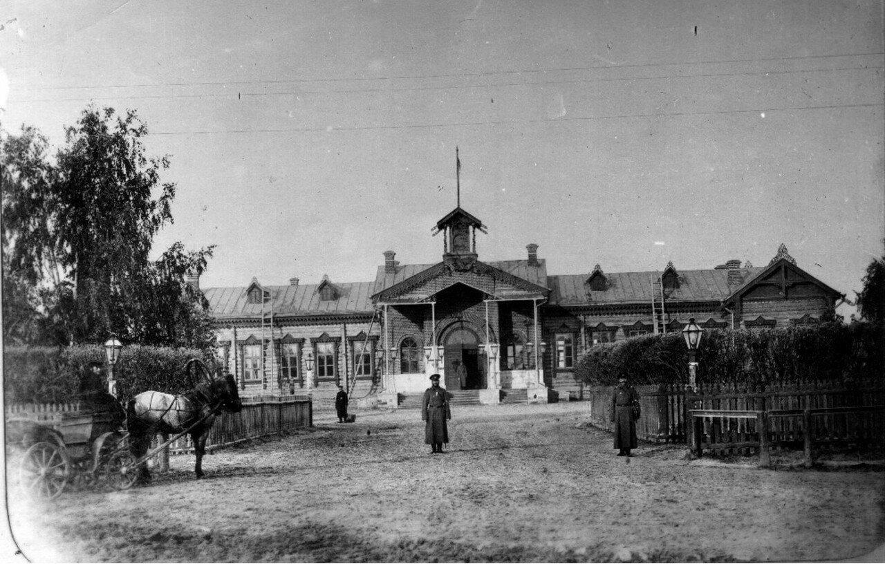 1890-е. Шуя. Вокзал Северной железной дороги