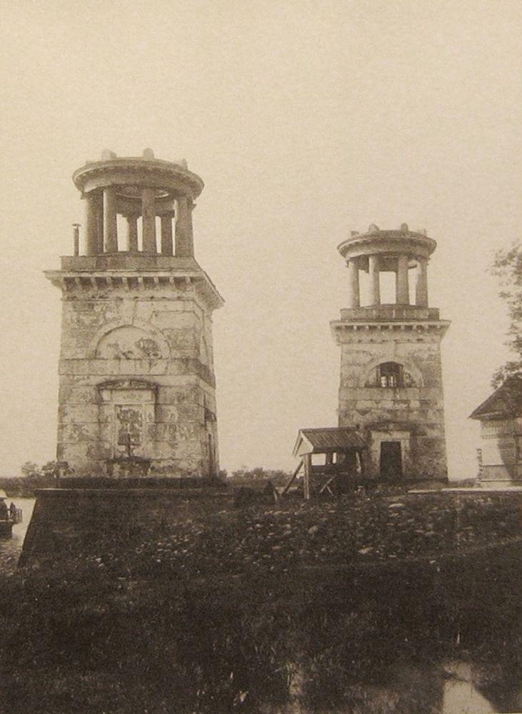 Башни у пристани