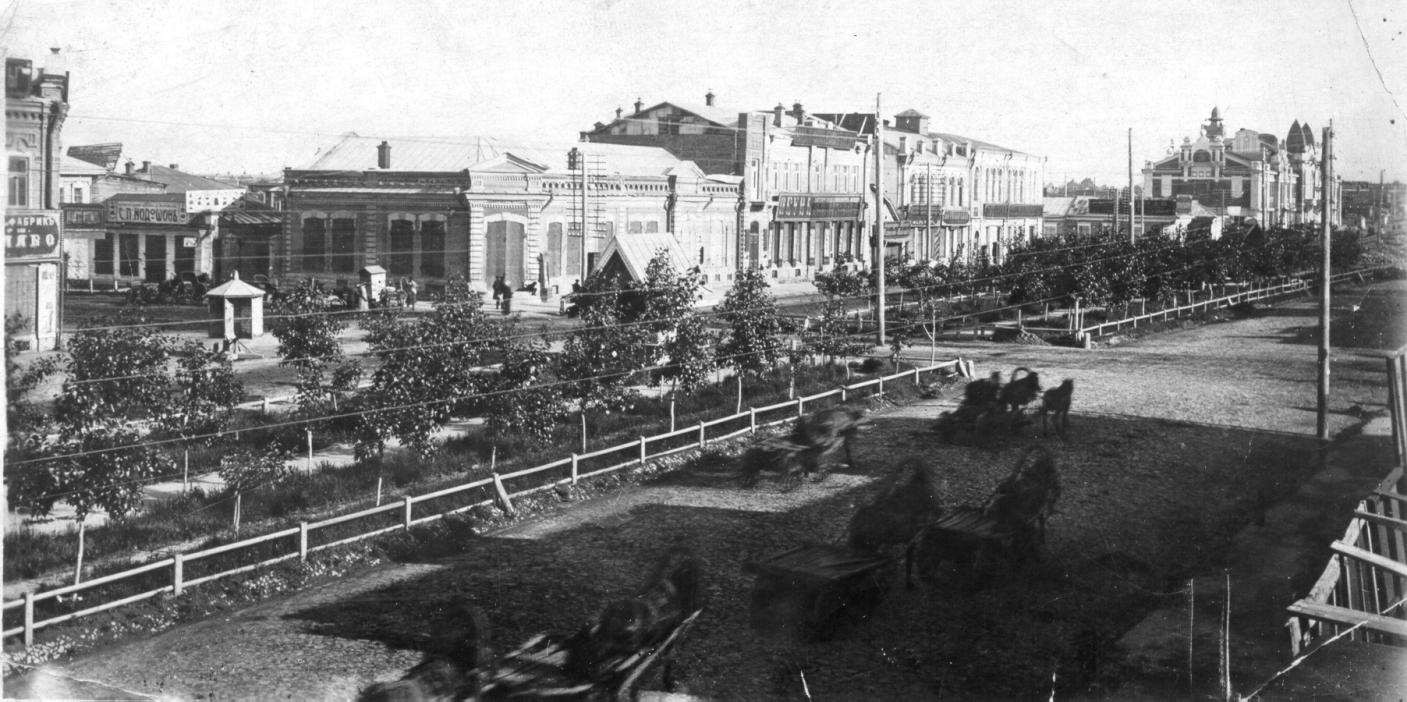 Николаевский проспект между Асинкритовской и Тобизеновской улицами