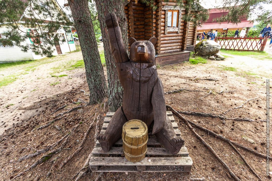 медвежуть в свирьстрое