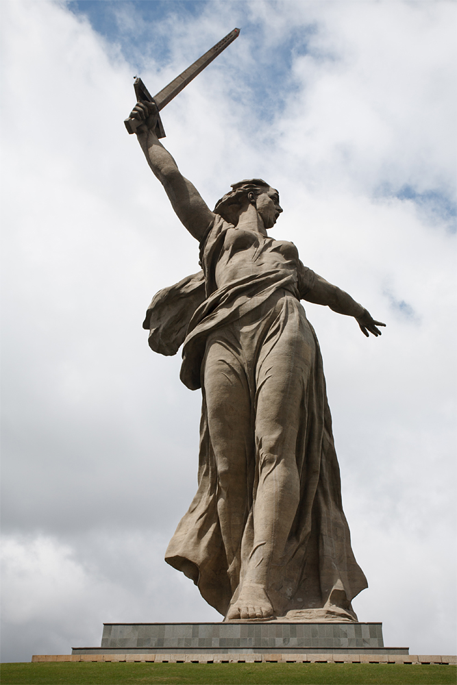 фото, фотография, Сталинград, Родина-мать, статуя, Мамаев курган, май