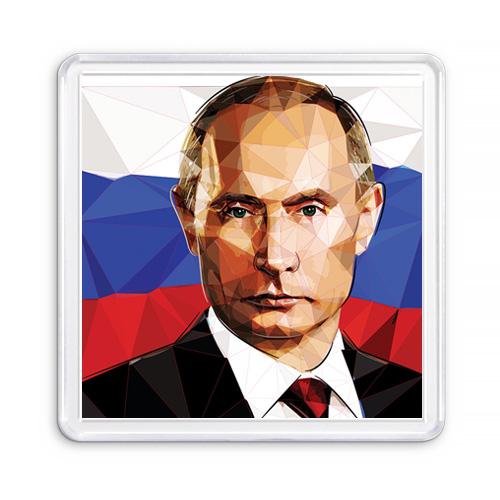 МАГНИТ АКРИЛОВЫЙ / ПРЕЗИДЕНТ РФ (арт. 000271)