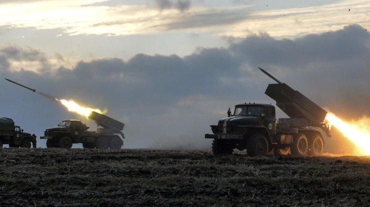 Утром украинских военных обстреляли из«Града-П»: никто непострадал