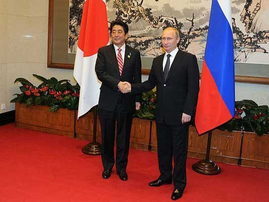 Всередине весны исентябре Российскую Федерацию посетит премьер Японии