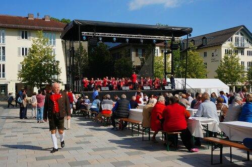Концерт на площади Штарнберга.