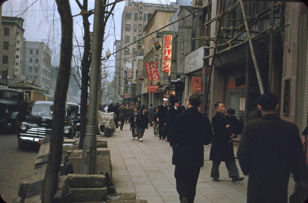 Tokyo, 1954.