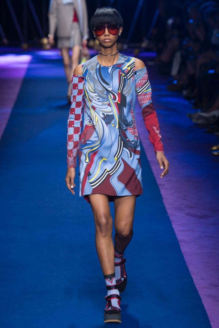 Неделя моды в Милане: Versace весна 2017