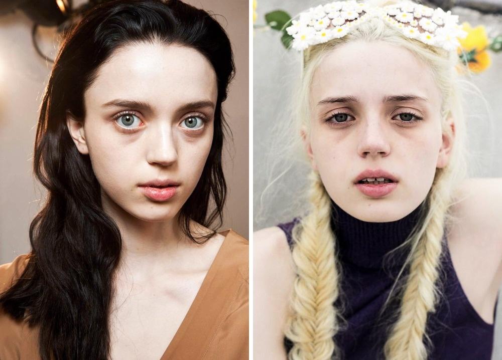 © models  © theones2watch  Когда эта девушка свнешностью русалки училась вшколе, ейпо