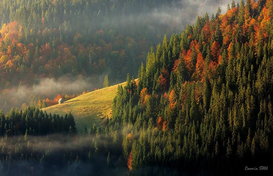 18. Западные Румынские горы. (Фото: Стэн Сосмин Овидиу)
