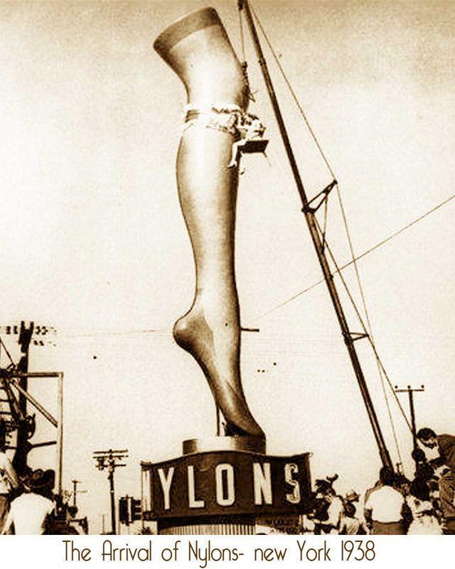 4. Торжественное прибытие «революционной одежды будущего», как называли тогда новинку, в Нью-Йорк в