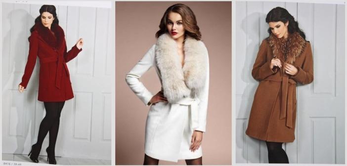 Зимнее пальто с мехом: тенденции сезона (1 фото)