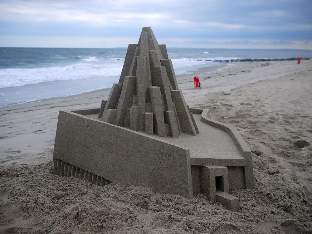 Замки из песка от профессионального архитектора